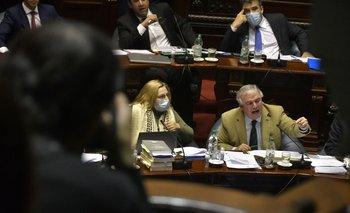 Bianchi apuntó contra Andrade y el legislador le preguntó a Argimón si era posible que le diga eso