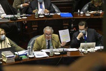 El ministro Heber deberá volver al Parlamento