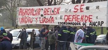 Los trabajadores de Alur ocuparon la fábrica desde las 6 am