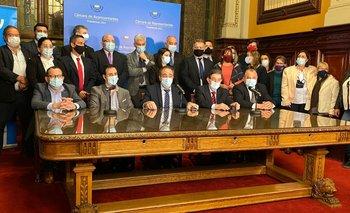 Coalición dio cierre a la discusión de la Rendición de Cuentas en Diputados