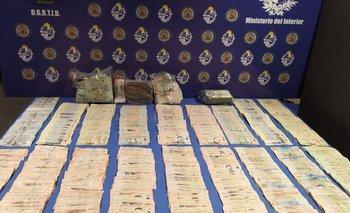 La incautación de drogas dejó un total de seis detenidos
