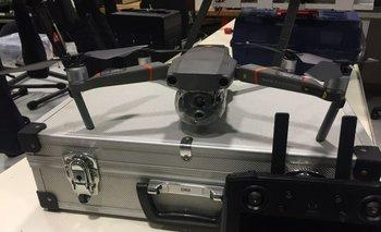El dron que se utiliza para el proyecto.