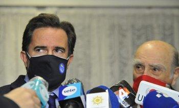 Lacalle y Sanguinetti resolverán la semana próxima quién suplirá a Cardoso