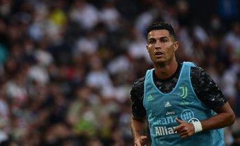 Cristiano Ronaldo el domingo contra Udinese