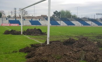 Ya comenzaron las obras en el Estadio Mario Ubilla