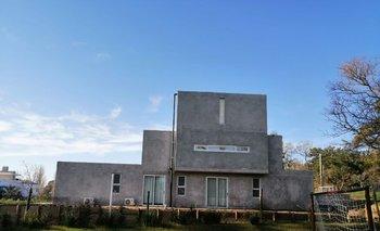 Otra vista de la casa construida entre noviembre y julio sin autorización de la Intendencia de Maldonado