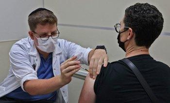 Centro vacunatorio en Jerusalén