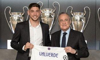Federico Valverde extendió contrato hasta 2027 con Real Madrid