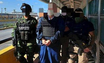 Arellano Félix fue entregado a México por EE.UU. en la frontera entre Tamaulipas y Texas