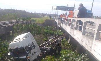 El tránsito estuvo enlentecido tras el accidente, pero ya se normalizó