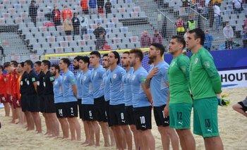 Uruguay jugó su cuarto partido con dos días de descanso