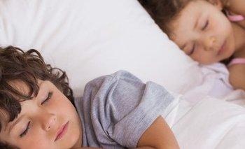 Dormir bien influye en el desarrollo de los niños