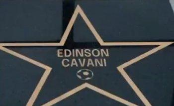 La estrella de Cavani