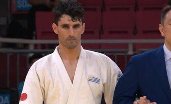 El judoca uruguayo Henry Borges en los Juegos Paralímpicos de Tokyo 2020