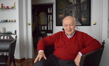 Miguel Curbelo, Presidente de la Sociedad Mineros del Uruguay (Socminur).