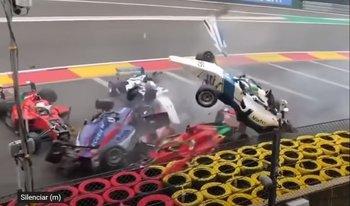 El tremendo accidente, sin consecuencias para los pilotos que se dio en la Fórmula W Series, que se corre previo a la Fórmula Uno
