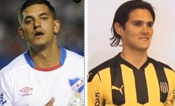Diego Polenta y Ruben Bentancourt, dos de los refuerzos que llegaron a Nacional y Peñarol