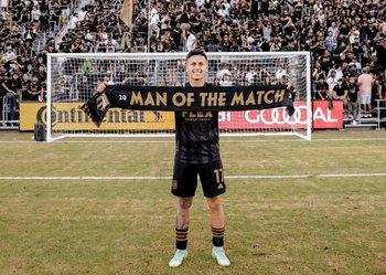 Brian Rodríguez fue elegido el mejor jugador del clásico con sus dos goles para Los Angeles FC ante Los Angeles Galaxy en la MLS