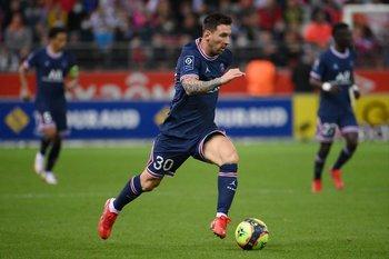 El debut de Messi en el PSG