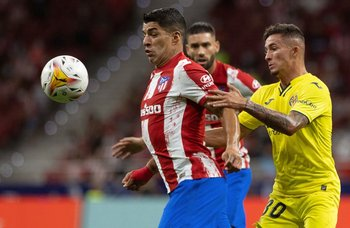 Suárez marcado por Yeremi Pino