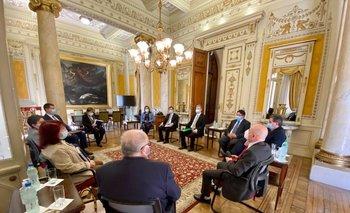 Diputados de la coalición se reunieron con la SCJ