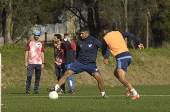Diego Polenta admitió que le falta en lo futbolístico
