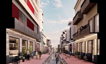 La calle Colón pasará de destinar el 33% de su ancho a los peatones al 71%