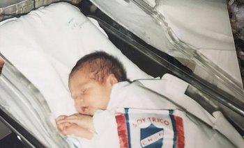 Gabriel Neves, recién nacido