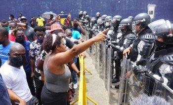 La caravana de migrantes salió de Tapachula, Chiapas, el sábado