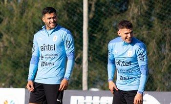 Maxi Gómez y Giovanni González