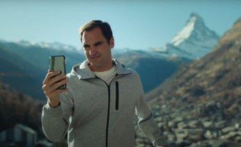Federer en la publicidad viral