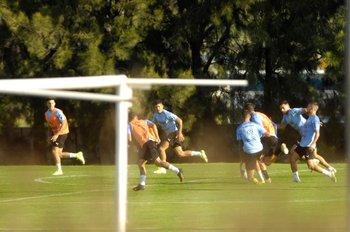 Realizaron fútbol en espacios reducidos