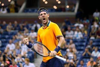 Delpo sigue con actuación perfecta en el US Open