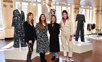 Marcela Siri, Patricia Fernández, Ivalu Muscarelli y Camila Palacios