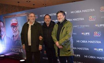 Luis Brandoni, Guillermo Francella y Gastón Duprat