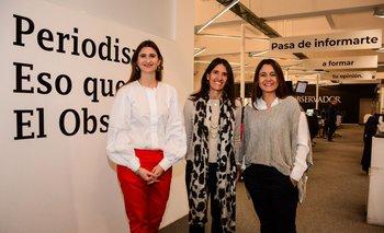 Ana Ines Maranges, Isabel Álvarez y Silvia Gularte