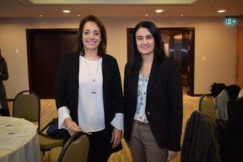 Adriana Olivera y Silvia Angelero