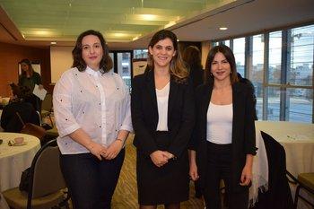 Ana Martin, María Paula Chiessa y Sylvana Molina