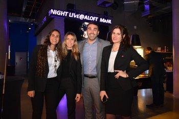 Camila Deicas, Virginia Vidart, Ignacio Zubiaga y Natalia Paladino