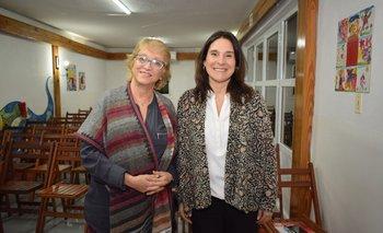 Natalia Trenchi y Ana Cárdenas