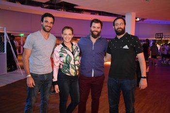 Joaquin Sosa, María Victoria Mastroianni, Gaston Ferres y pablo Natero