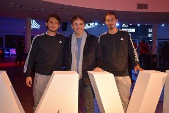 Juan Manuel Boselli, Roberto Moar y Thiago Vecino