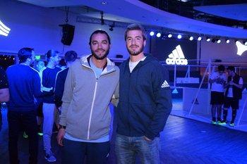 Pablo Rodríguez y Andres Airaldi