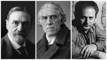 Pedro Figari, Joaquín Torres García y José Gurvich