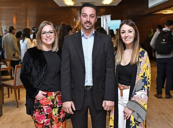 Jessica Rodriguez, Pablo Cusnir y Cecilia Fraire