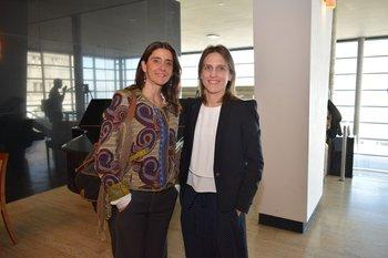 Pada Sanguinetti y Magdalena Laguarda