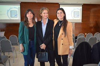 Sofia Rodríguez, Andrea Menache y Tati Jurado