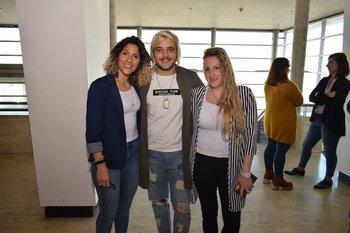 Valeria Lista, Daniel Nedor y Fernánda Duarte