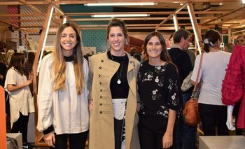 Vanina Friedmann, Matilde Pacheco y Camila Álvarez
