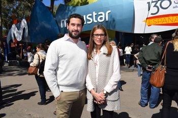 Andres Albini y Virginia Sosa